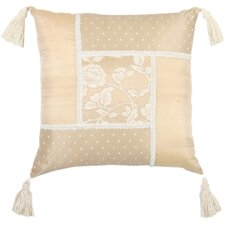 Heirloom Patchwork Cotton Blend Pillow