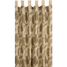 Woodland Tab Top Curtain Single Panel