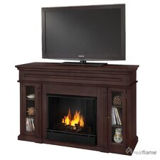 "Lannon 51"" Ventless TV Stand with Gel Fuel Fireplace"