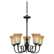 Victoria 5 Light Chandelier