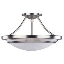 Avalon 3 Light Semi-Flush Mount