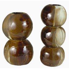 Double Sphere Vase