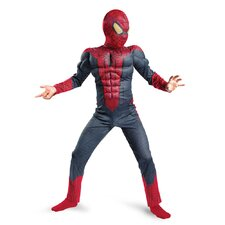 Spider-Man Movie Classic Muscle Kids Costume
