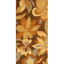 Foliage Brown Rug