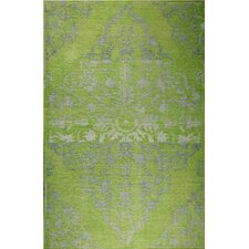 Medallion Green Rug