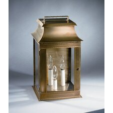Concord Medium Base Socket with Chimney Pagoda Wall Lantern