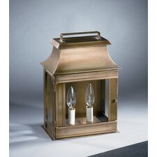 Concord Medium Base Socket Pagoda Wall Lantern