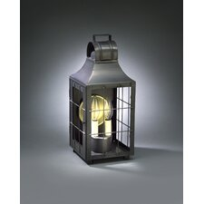 Livery 2 Candelabra Socket Culvert Top H-Rod Wall Lantern