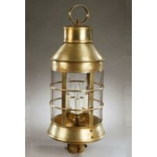 Nautical 3 Light Post Lantern