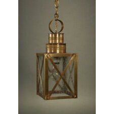 Suffolk Medium Base Sockets Can Top X-Bars Hanging Lantern