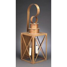 Suffolk Candelabra Sockets Can Top X-Bars 3 Light Hanging Lantern