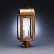 Livery 2 Light Post Lantern
