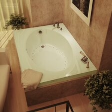 "Bermuda 72"" x 23"" Rectangular Air Tub"