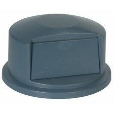 Rubbermaid Commercial - Brute Dome Tops 44 Gal. Brute Dome Top: 640-2647-88-Gray - gray brute dome top for2641 & 2643