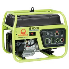 6000 Watt Portable Gas Generator with Recoil Start