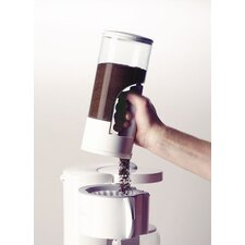Coffee Dispenser in White