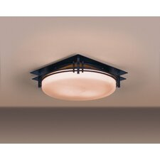 Banded 2 Light Flush Mount