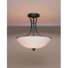 "Presidio 16"" Sweep 3 Light Semi Flush Mount"