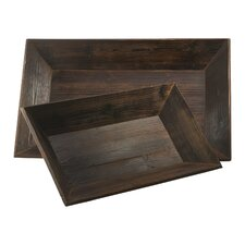 Graham Rectangular Serving Tray (Set of 2)