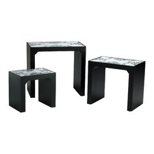 Mosaic 3 Piece Nesting Tables