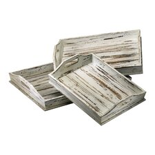 Rectangular Serving Tray (Set of 3)