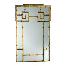Bamboo Mirror in Gold