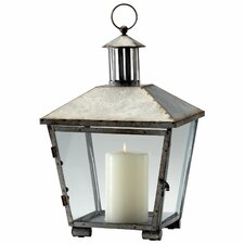 Iron and Glass Delta Lantern