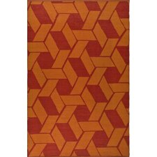Thom Filicia Saddle Blood/Orange Rug