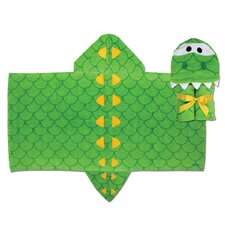 Alligator Hooded Towel