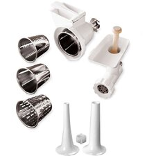 Stand Mixer Attachment Pack with Sausage Stuffer Kit