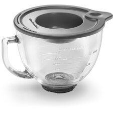 Artisan Series 5-Quart Stand Mixer with Stainless Steel and Glass Bowl