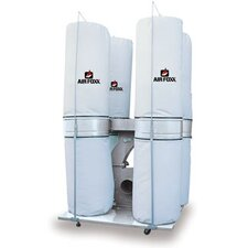 10 HP 3 Phase 220/440V 6450 CFM Bag Dust Collector