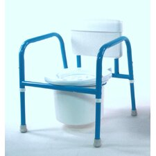 Pediatric Commode with Hook and Loop Chest