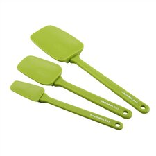 Tools 3-Piece Spoonula Set in Green