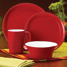 Round and Square 4 Piece Place Setting