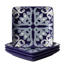 "Ikat 6.5"" Appetizer Plate (Set of 4)"