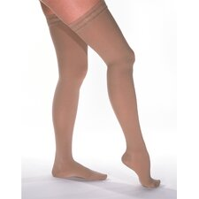 Legline 20-30 mmHg Women's Thigh High Closed Toe Sheer Stocking