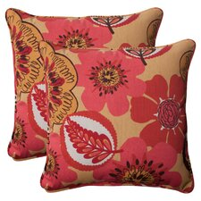 Fredrica Corded Throw Pillow (Set of 2)