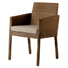 Nevada Woven Lounge Armchair with Cushion
