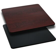 Square Reversible Laminate Table Top