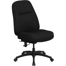 Hercules Series High-Back Big and Tall Fabric Office Chair with Extra Wide Seat