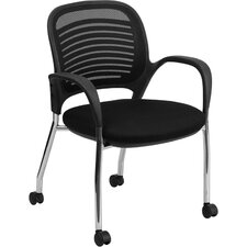 Mobile Mesh Back Side Chair