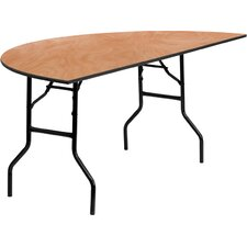 Half-Round Folding Banquet Table