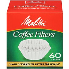 Single Serve Coffee Filters for JavaJig 60 Count