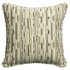 Outdoor/Indoor Vibrant Hipster Newsprint Pillow