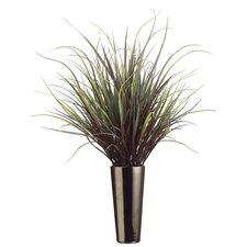"43"" Yucca Grass with Tall Ceramic Vase"