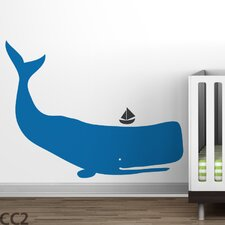 Baby Zoo Whale Wall Decal