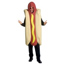 Deluxe Hot Dog Adult Costume