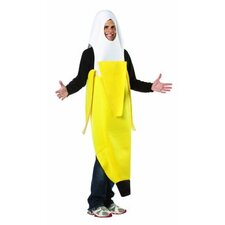 Peeled Banana Adult Costume