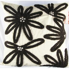 Floral Wool Pillow